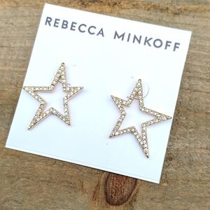 ✂️ 2/$6 Rebecca Minkoff pave star earrings NWT